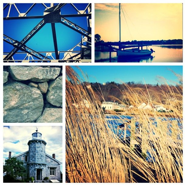 Scenes From Mystic and Stonington.