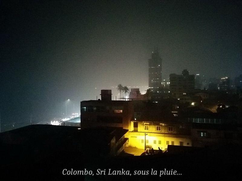 Colombo dans une crise de mousson