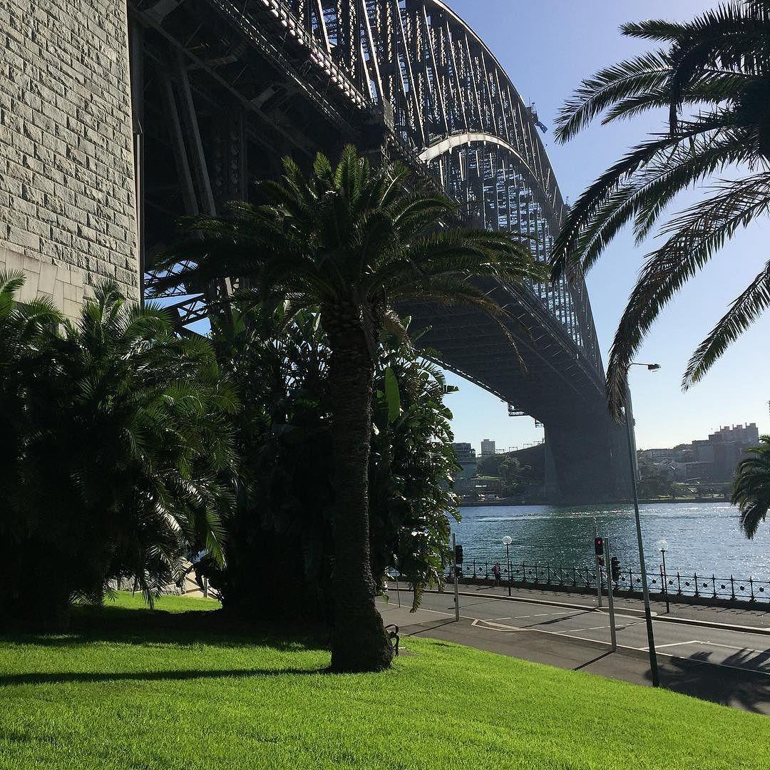 Sydney Harbour Bridge stop upon arrival with @rhl2987 #sydney #australia #sydneyharbourbridge by d_t_cal http://ift.tt/1NRMbNv