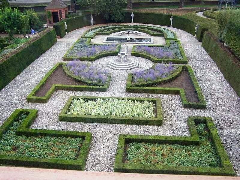Jardín Formal, Jardín clásico, Tipos de jardines, Diseño de jardines ...