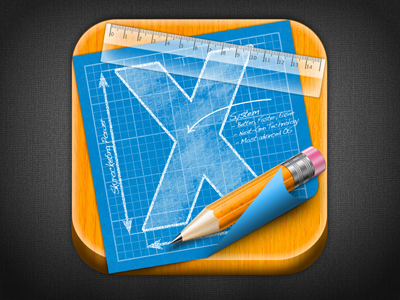 Icon Icons Icon Design App Iphone Android Pencil Plan Detail Ruler Blueprint