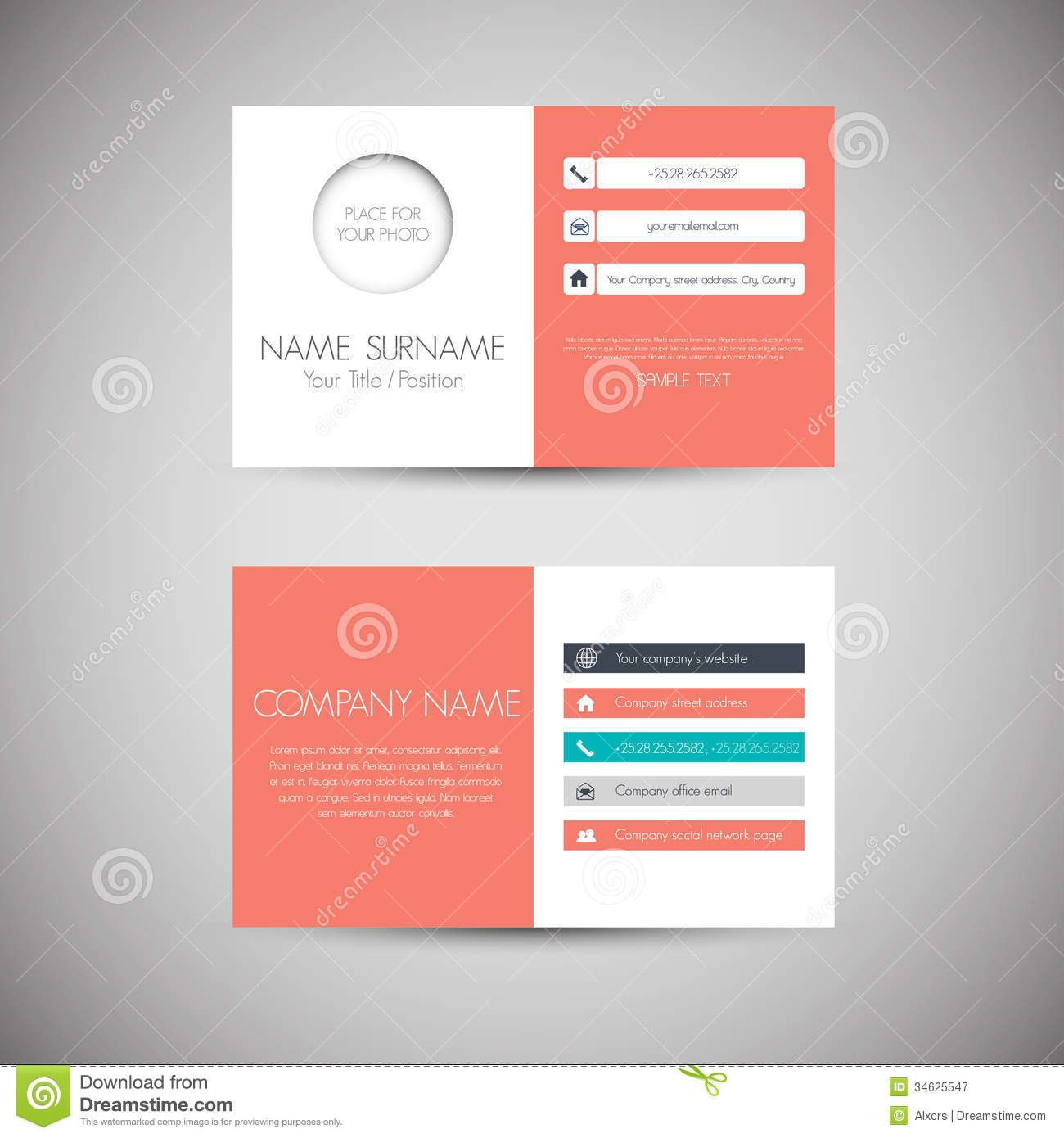Design Business Card  Pesquisa Google  Design Grafic
