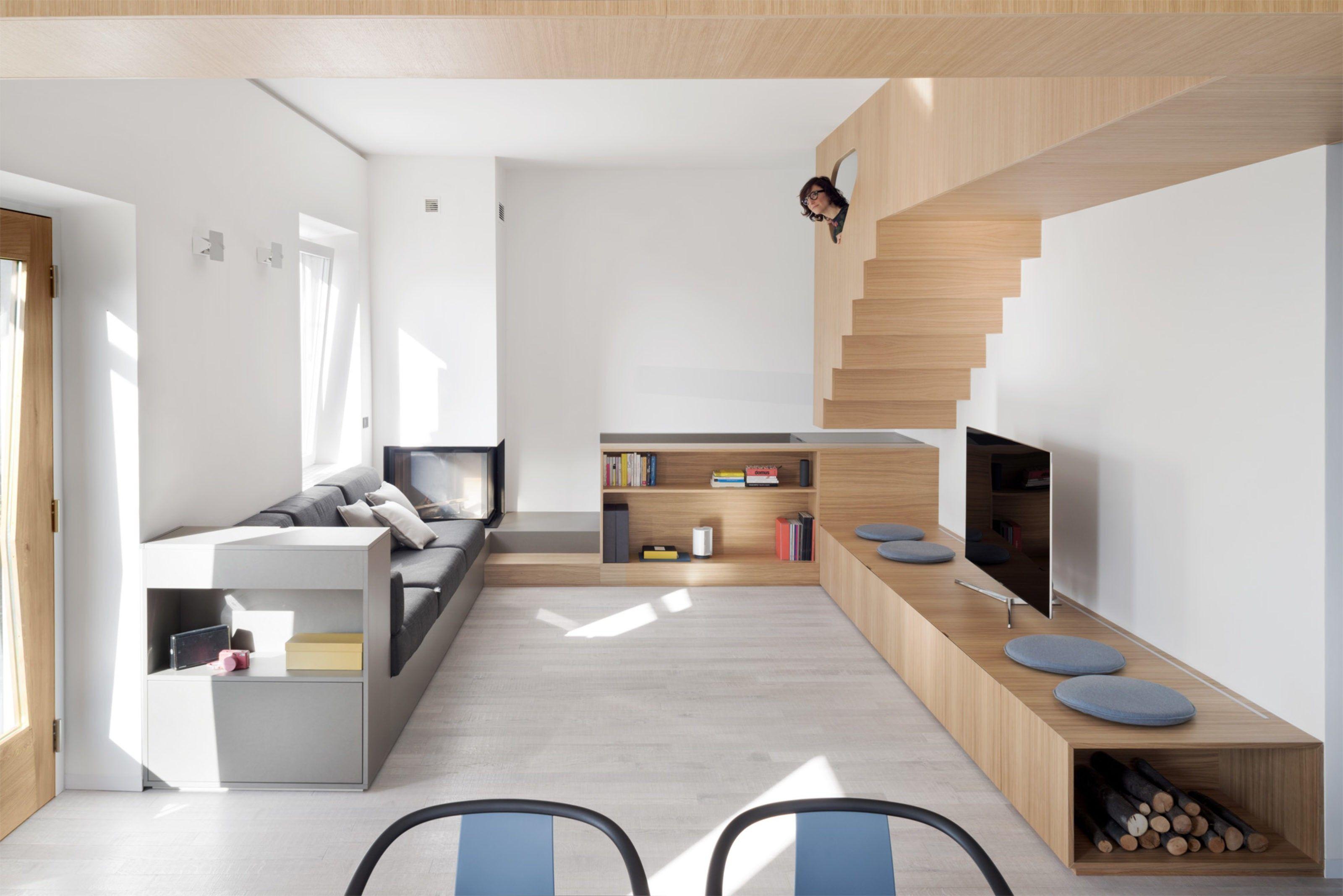 Rénovation d une maison dans la campagne pr¨s de Gªnes en Italie par