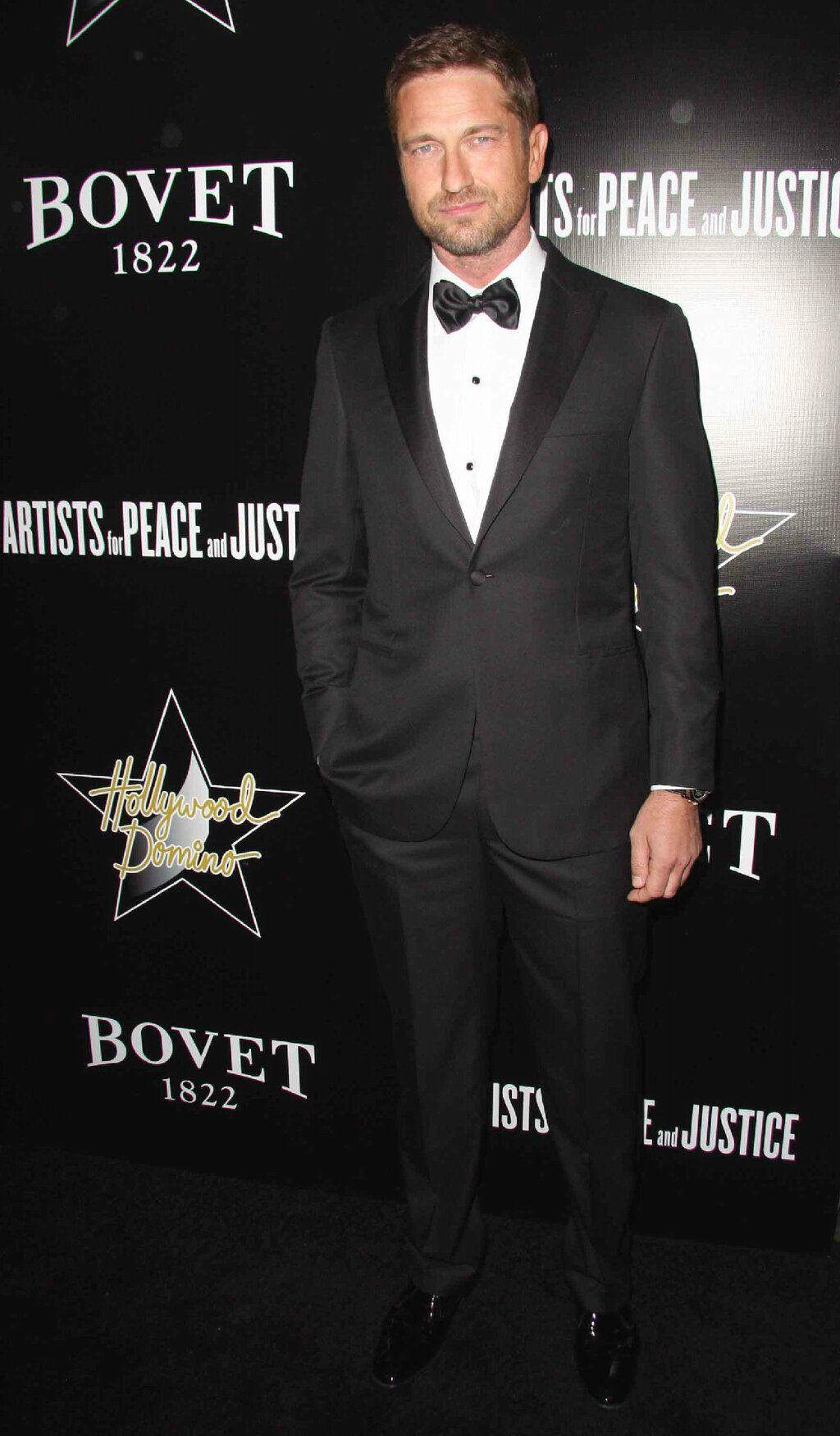 Brioni Gerard Butler Oscar Fashion