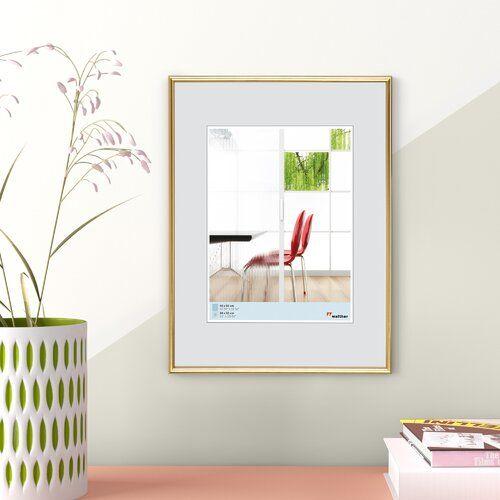 Photo of Wand- und Stehrahmen Hashtag Home Farbe: Rot, Größe: 40 x 30 cm