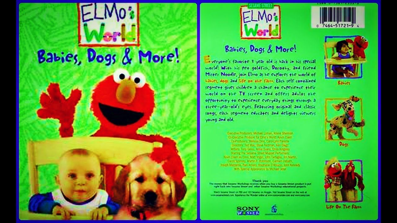 Top Five Elmo's World Babies Dogs And More Channels - Circus