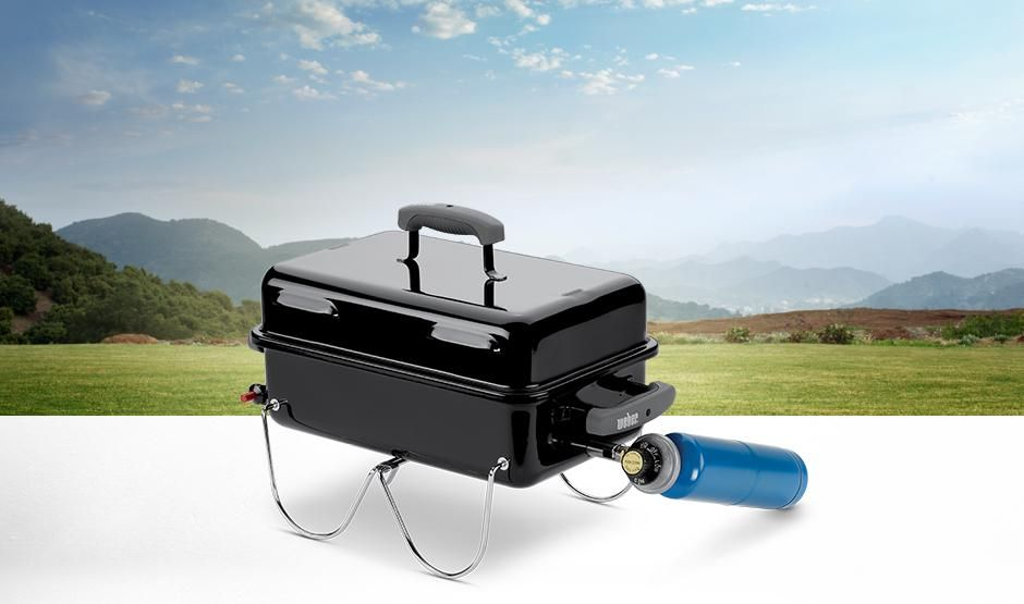 Weber Go Anywhere Gas Series Push Button Igniter Porcelain