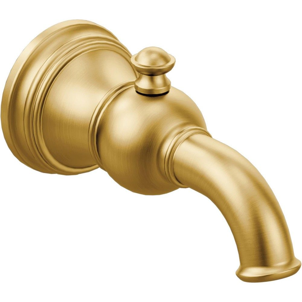 Moen S12104 6 3 4 Wall Mounted Tub Spout With 1 2 Slip Fit