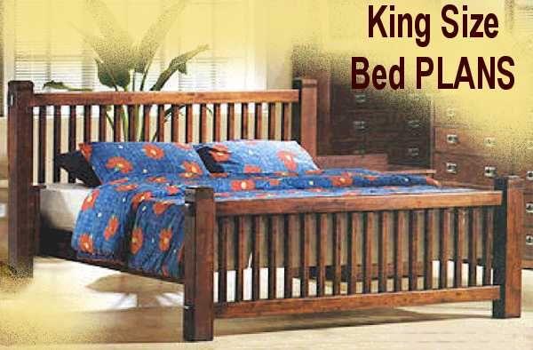 Woodworking Grooves King Mission Bed Plans Wood Pen Blanks Ebay Bed Frame Plans Bed Plans Mission Style Beds