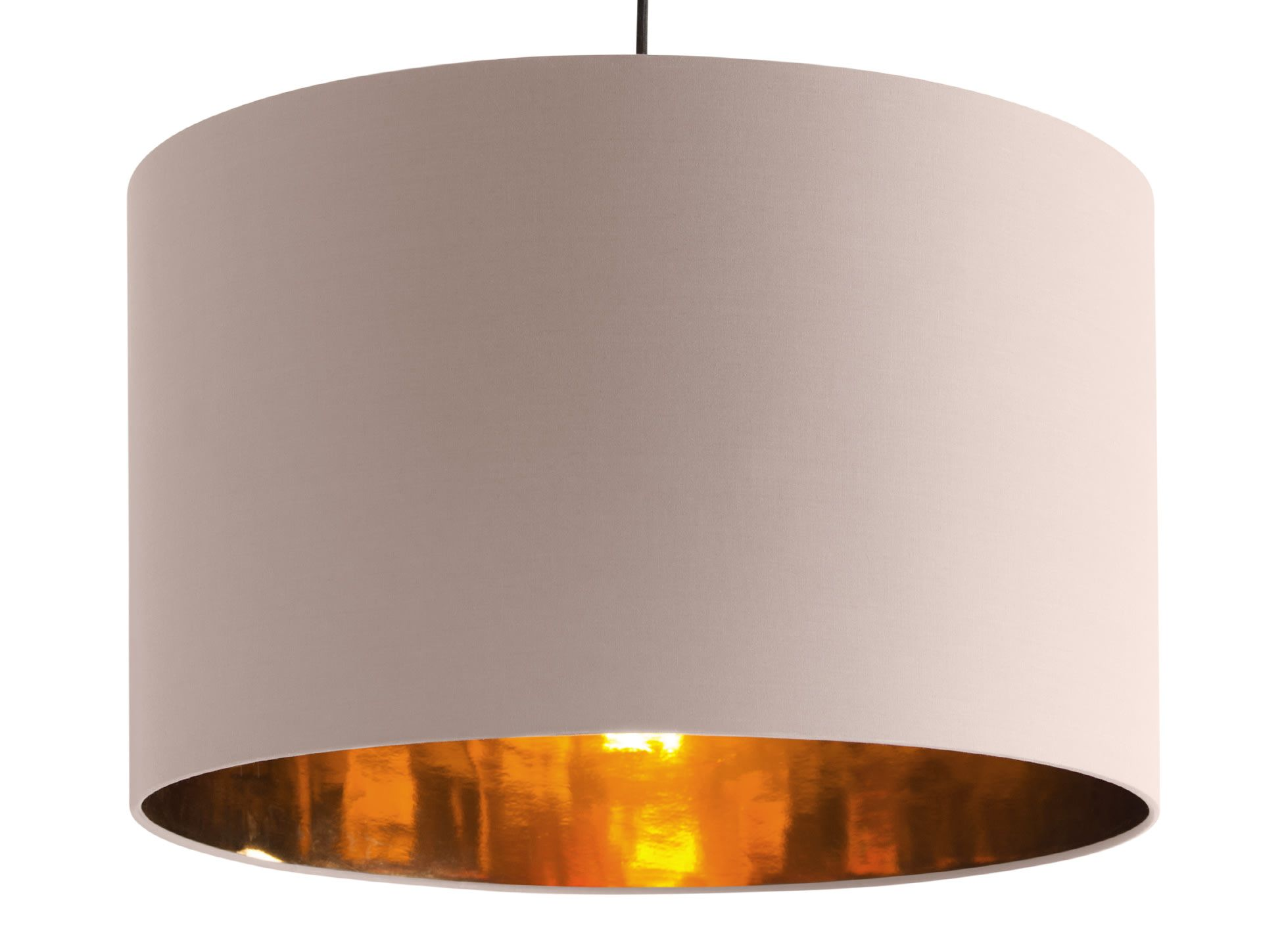 Aura Extra Large Pendant Shade Pink And Copper Drum Lampshade Lampshade Designs Navy And Copper