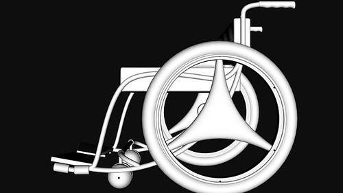 clean wheel chair