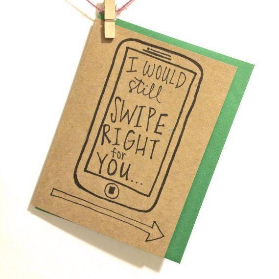 online dating birthday card