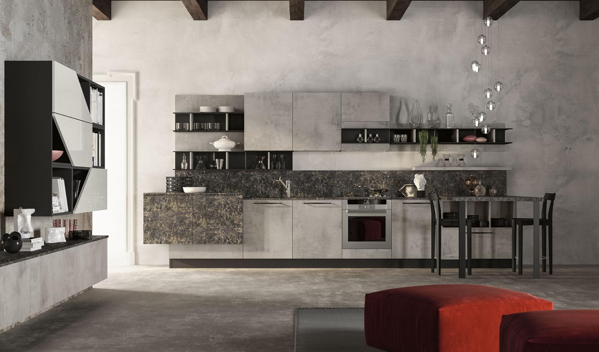 Pin De Gramar Granitosymarmoles En Cocinas Modernas Linea Lungomare Interiores Cocinas Modernas Moderno