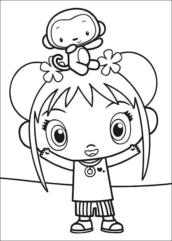 Ni Hao Kai-Lan Tegninger til Farvelægning 10 | coloring pages ...