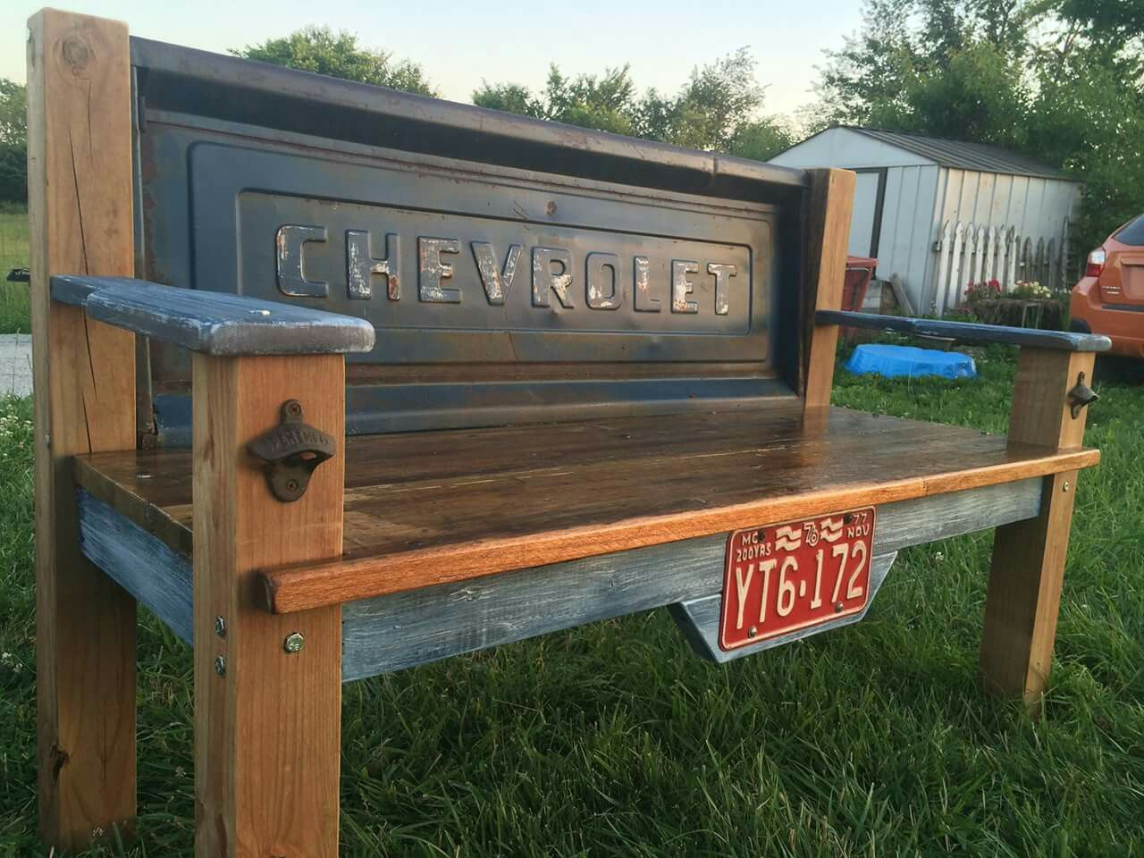 Chevrolet Tailgate Bench Tailgate Bench Woodworking Projects Outdoor Furniture Plans