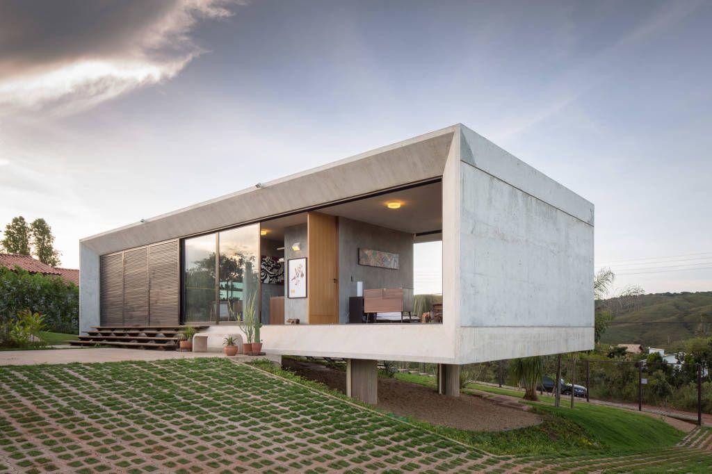 Réaliser sa Maison Moderne en campagne avec seulement 95 m² ...