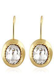 9bee436f9b9ae Estelle 24 Krt. Gold Plated Earrings | ESTELLE- EARRINGS | Gold ...