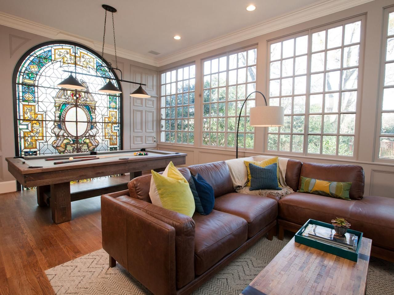 Good Living Room With Arched Stained Glass Window [1280x960] Love Stained Glass  Windows.