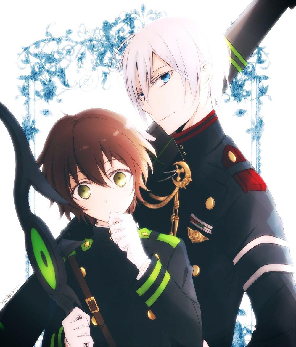 Pin by ava on boy anime Owari no seraph, Seraph of the