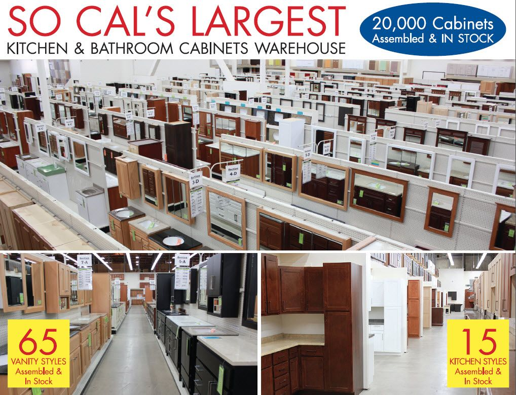 Builders Surplus Kitchen And Bath Cabinets Santa Ana, CA Los Angeles