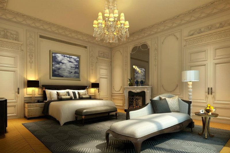 Luxury Peninsula Hotel Suite In Paris Luxury Hotel Design
