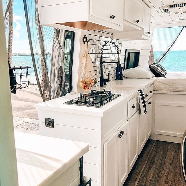 """Photo of Living Tiny Project on Instagram: """"""""Living in a van was never something we planned on doing. After buying a house, having cars and lots of """"stuff"""" we realized how little we…"""""""