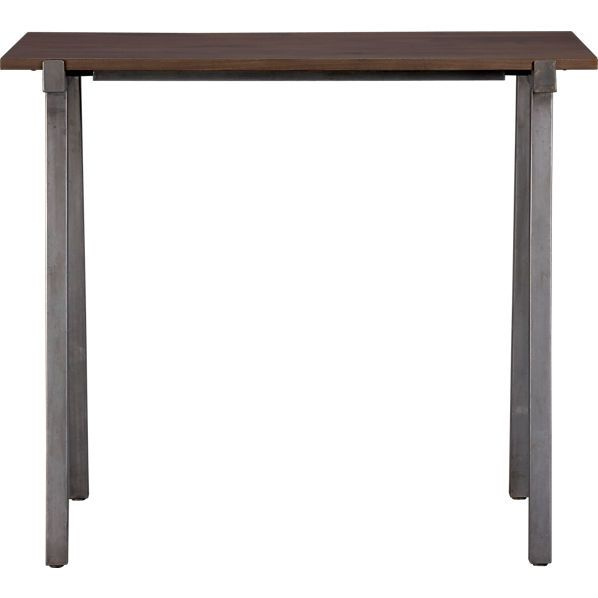 450 Vice High Dining Table In Dining Tables Cb2 High Dining Table Modern Dining Table Table