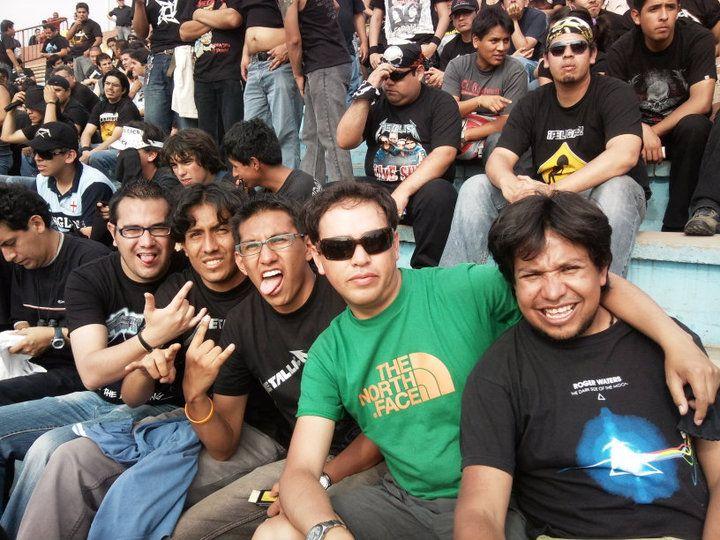 Concierto de Metallica en Lima - Perú .. Yeah! 2010