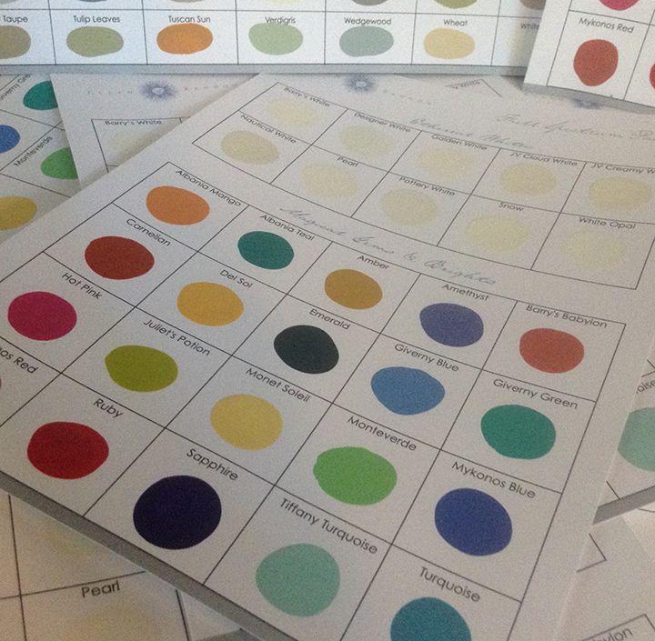 Ellen Kennon Full Spectrum Paints | Wall paint colors ...