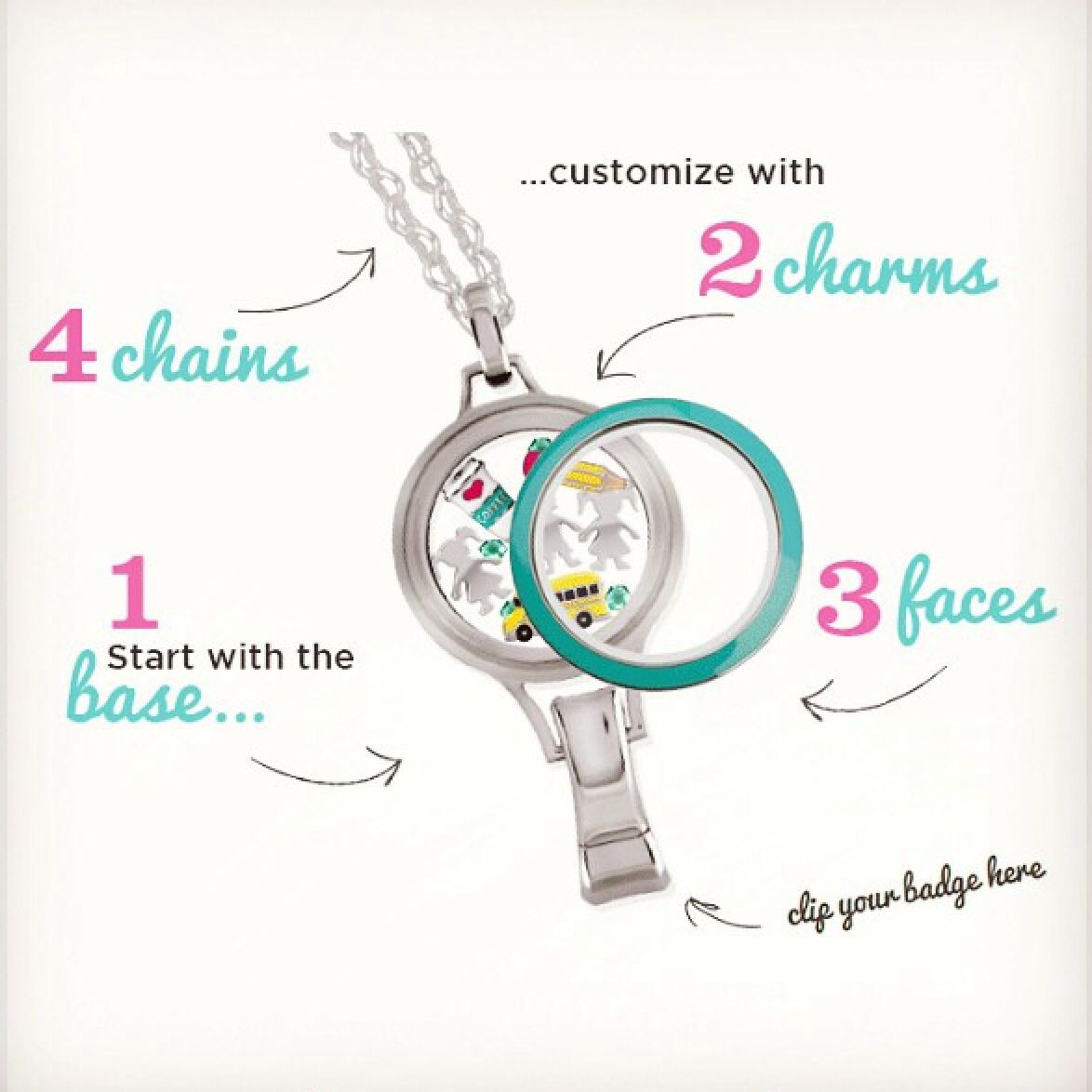 How to style the new Origami Owl Lanyard Locket. # ... - photo#4