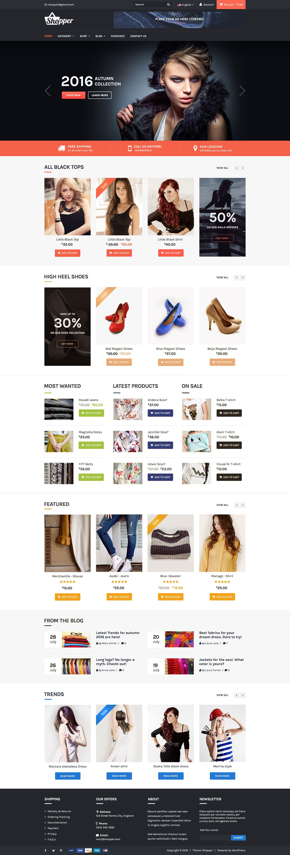 Tyche free ecommerce wordpress theme free html5 template the free best ecommerce theme powered by wordpress and woocommerce pronofoot35fo Images