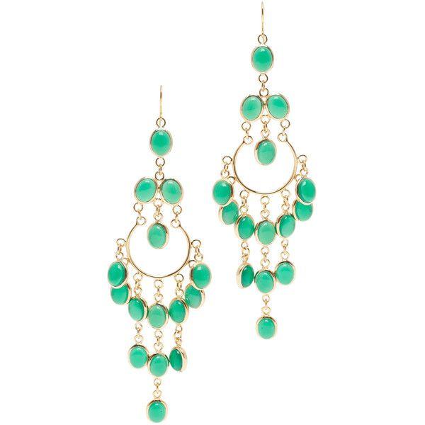 ISHARYA Gypsy Long Earrings ($257) ❤ liked on Polyvore