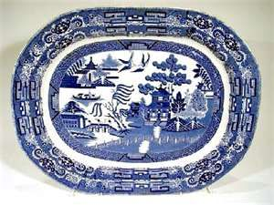 Blue Willow Pattern China And