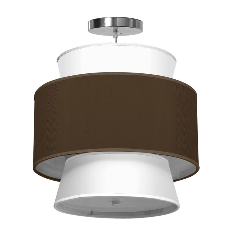 Seascape lamps arlo pendant 24 arlo 24 wide 2 light modern drum pendant with ad