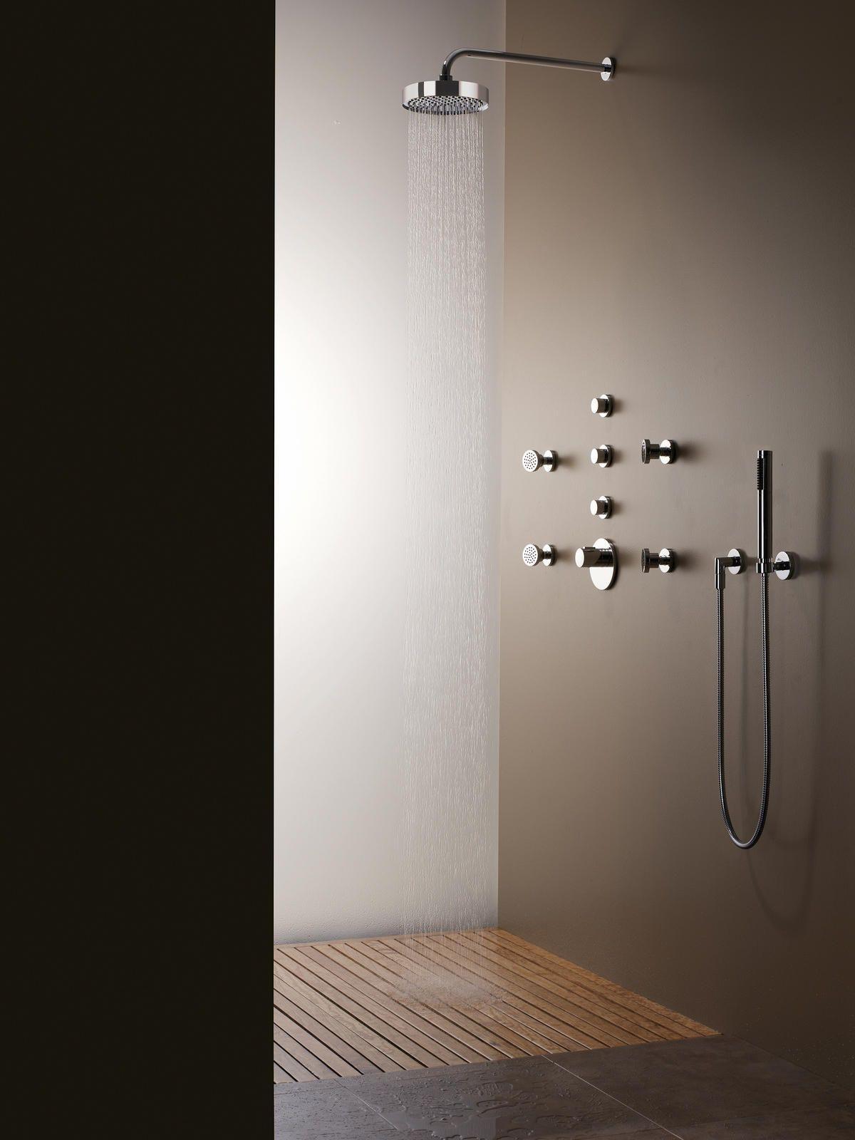 Meta 02 Hand Shower Set With Integrated Shower Holder By Sieger Design For Dornbracht Archi Dornbracht Architecture Bathroom Design Shower Plumbing Fixtures [ jpg ]