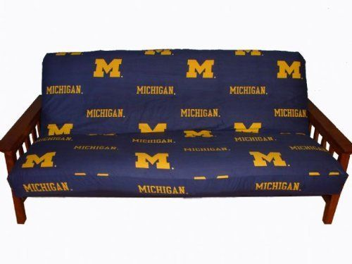 michigan futon cover   full size fits 8 and 10 inch mats   michigan wolverines by michigan futon cover   full size fits 8 and 10 inch mats      rh   pinterest
