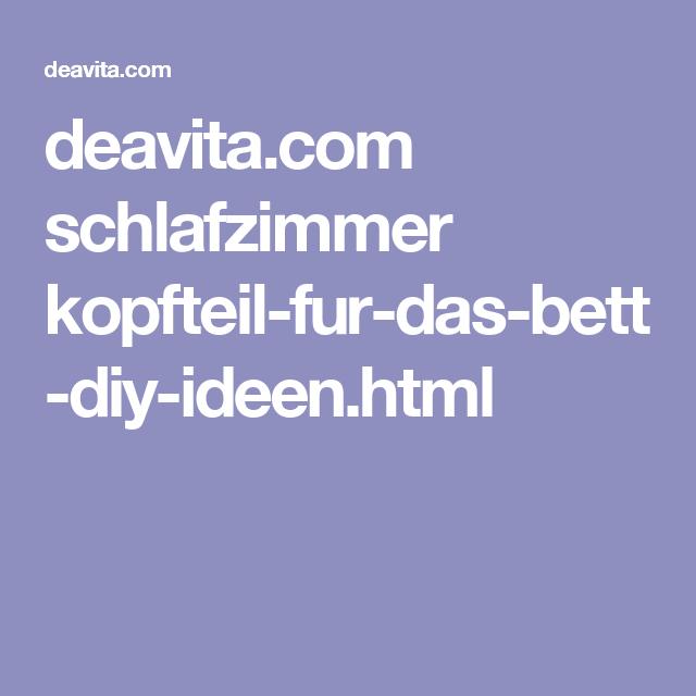 deavita schlafzimmer kopfteil-fur-das-bett-diy-ideen.html, Schlafzimmer entwurf