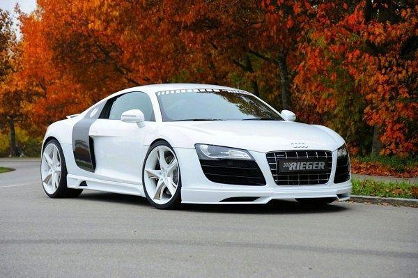 Audi Nice Picture Cars Auto R8 White Rims