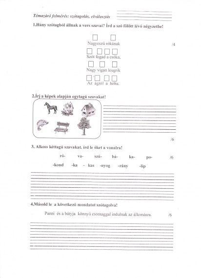 betű, hang és írásjegy, Látomás, hány betű és hang