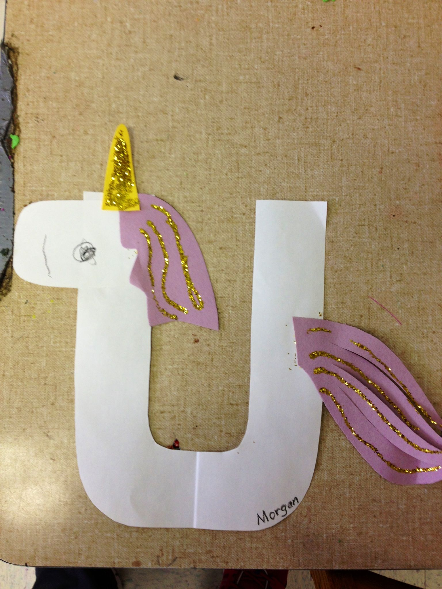 U Is For Unicorn How Cute With Images