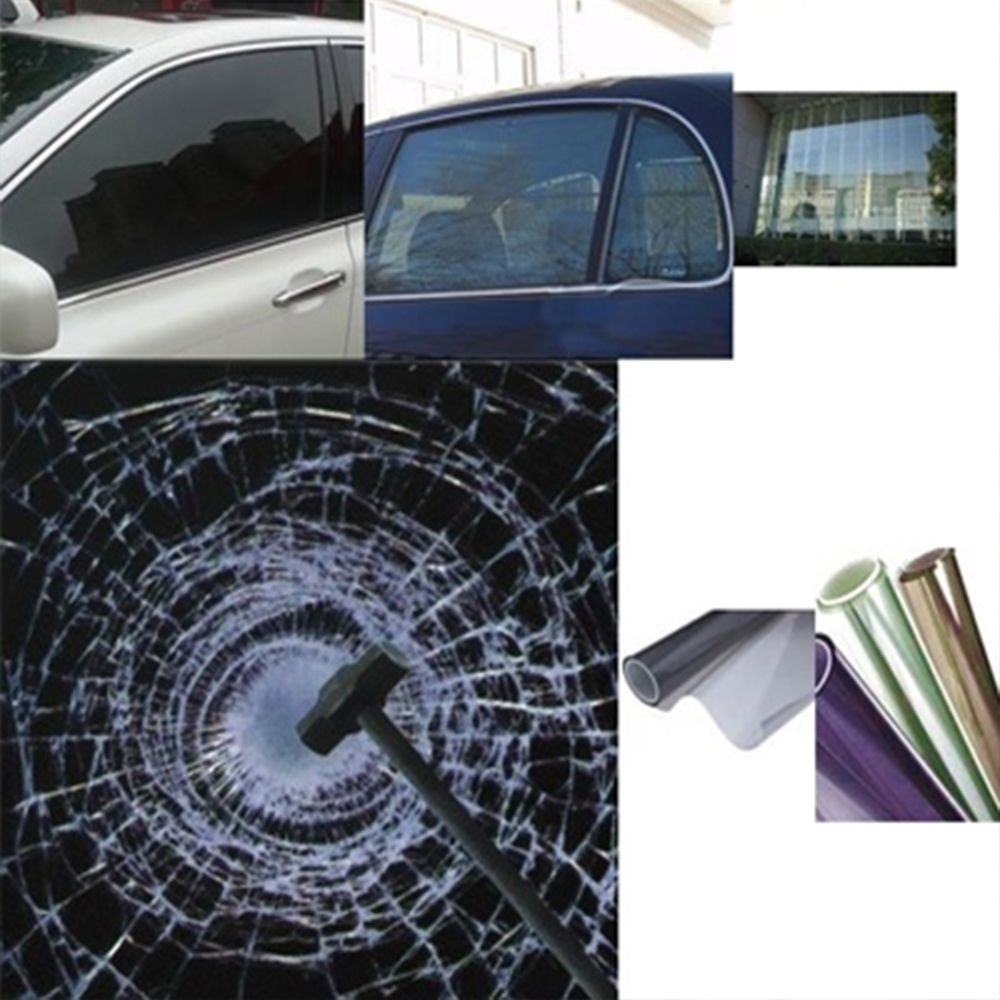 Architectural Window Films Transparent Clear Security Window Film For Auto And Building 1 52 30m Window Film Security Window Film Window Films