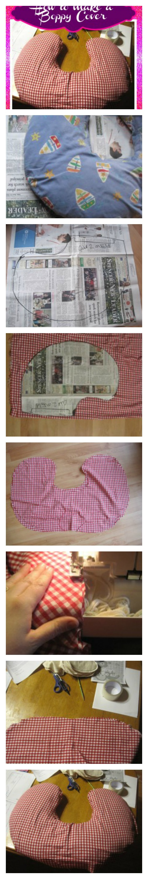Learn How to Make Boppy Cover Pattern with this easy tutorial | Real ...