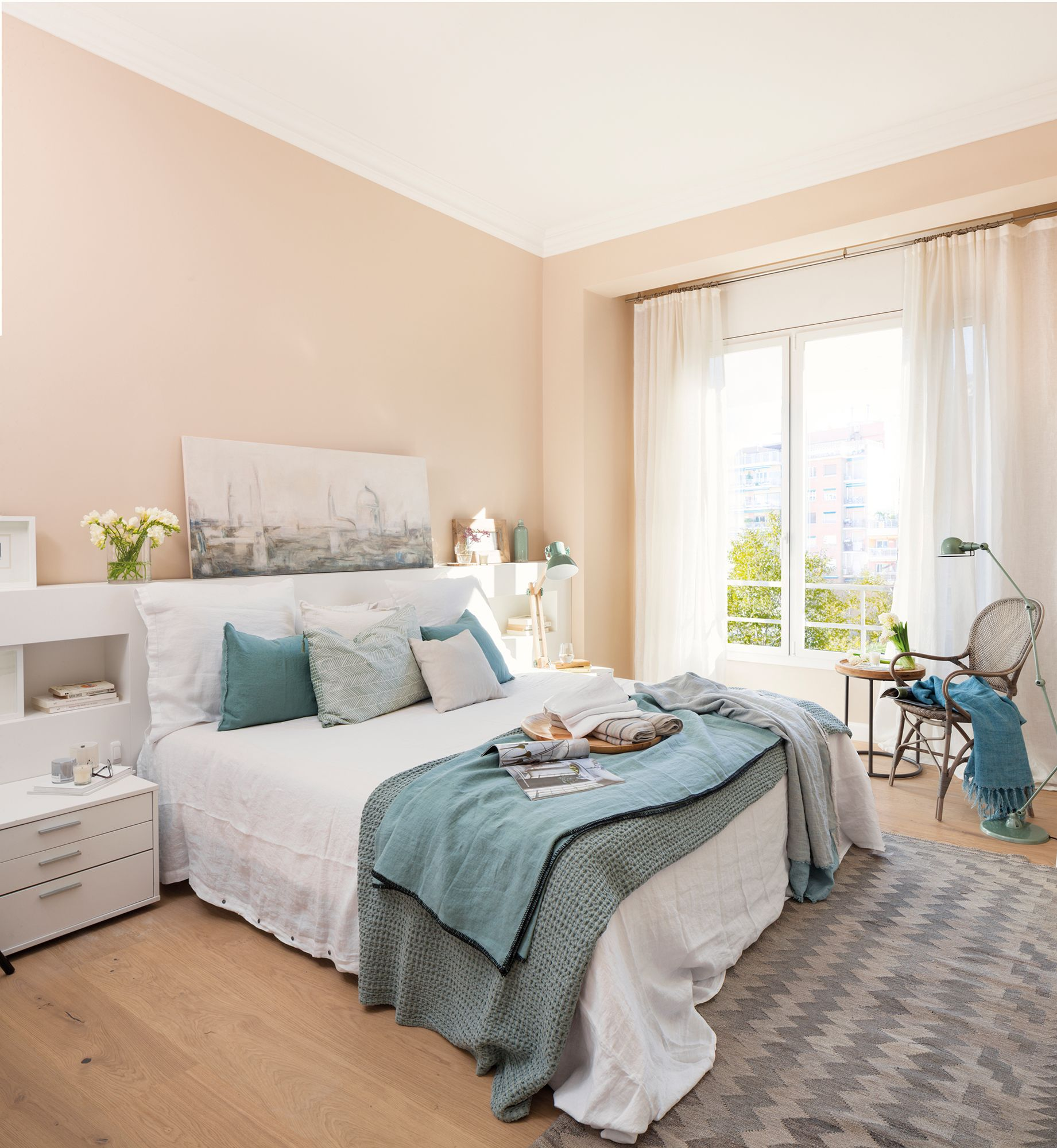 Color Ideal Para Dormitorio 49 Una Pisada Más Cálida En 2019 Decoracion
