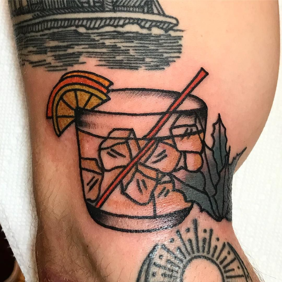 Fun walkin tequila traditionaltattoo tequilalover