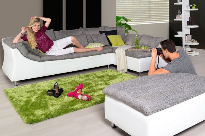 Auch Fur Ihr Wohnzimmer Polsterecke Leon Livingroom Mobel Mahler Polsterecke Mobel