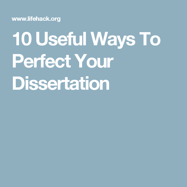 Pin On Thesis Write Your Dissertation In 15 Minute A Day