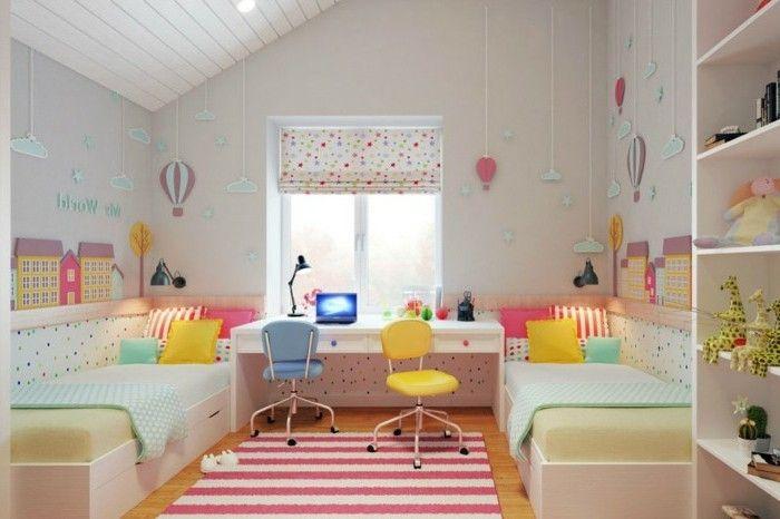40 Ideen F R Sch Ne Kinderzimmer Fensterdeko Pinterest