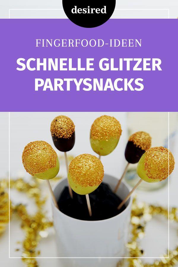 Schnell gemacht: Glitzer-Fingerfood für deine Party #repasnouvelan