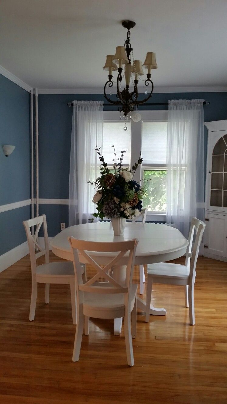Sherwin Williams Poolhouse Dining room paint colors