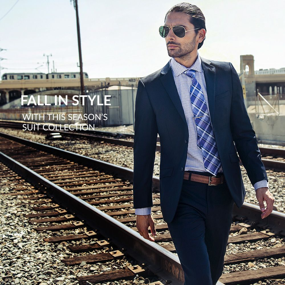 548e7b1fe723c6 Bachrach New Suit Collection Mens Clothing Styles, Clothing Items, Clothing  Company, Mens Suits